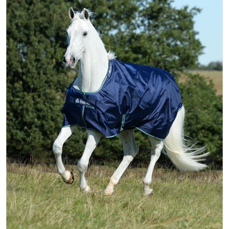 Couverture cheval Pré Smartex Rain Balistic nylon/0 g marine Bucas