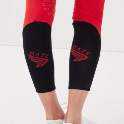 Jamia Gaze Pantalon d'équitation femme rouge - Mon Cheval