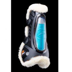Guêtres cheval E-Shock eFluidgel avec velcro et mouton eQuick