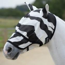 Masque zebra anti-mouche et...