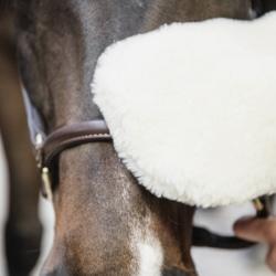 Gant de pansage mouton Grooming Deluxe Kentucky - Mon Cheval