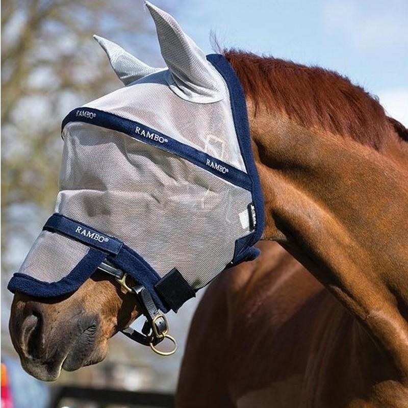 Masque Antimouche cheval Flymask de Horseware