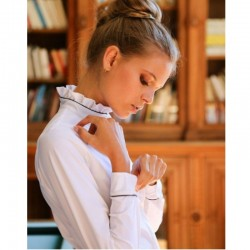 Chemise de concours femme body manches longues Kamilia - Oscar et Gabrielle