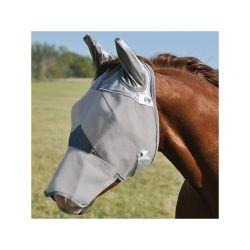 Masque anti-mouche anti-UV avec oreilles Crusader cheval Cashel