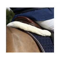 Sheepskin HalfPad Absorb amortisseur mouton chevaux Kentucky