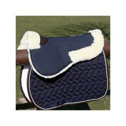 Sheepskin HalfPad Absorb amortisseur mouton chevaux Kentucky