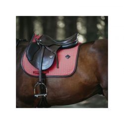 Saddle Pad Color Edition Leather Jumping tapis cuir chevaux Kentucky