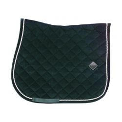 Saddle Pad Corduroy tapis dressage et jumping chevaux Kentucky