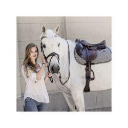 Saddle Pad Pied-de-Poule tapis chevaux Kentucky