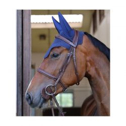 Fly Veil Wellington Soundless bonnet anti-mouches chevaux Kentucky