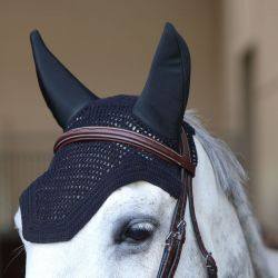 Fly Veil Wellington Soundless bonnet anti-mouches chevaux Kentucky
