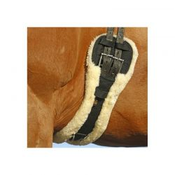 Sheepskin Short Girth sangle de dressage en mouton chevaux Kentucky
