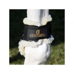 Sheepskin Young Horse Fetlock Boots protège-boulets en mouton jeunes chevaux Kentucky