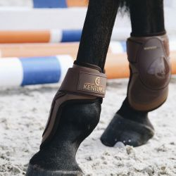 Deep Fetlock Boots protège-boulets avec protection paturon chevaux Kentucky