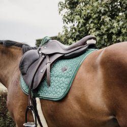 Saddle Pad Velvet tapis velours dressage et jumping chevaux Kentucky