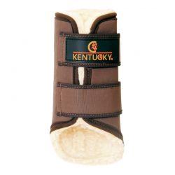 Turnout Boots Solimbra Hind guêtres postérieures en mouton et Solimbra chevaux Kentucky