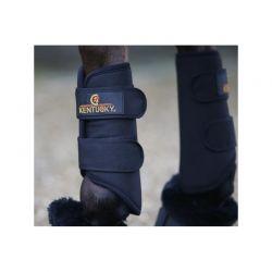 Turnout Boots 3D Spacer guêtres antérieures chevaux Kentucky