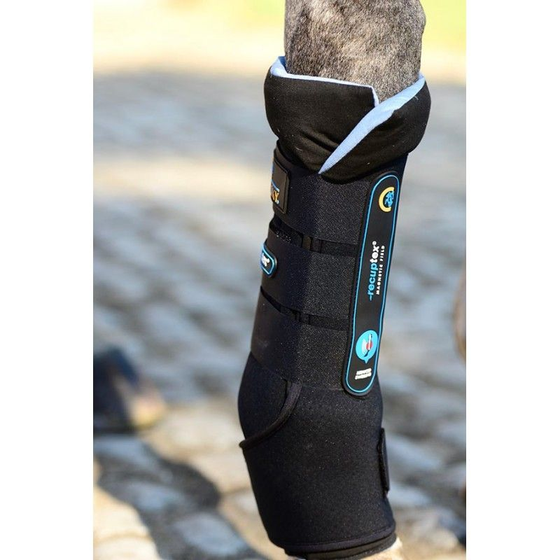Magnetic Stable Boots Recuptex guêtres de repos magnétiques chevaux Kentucky