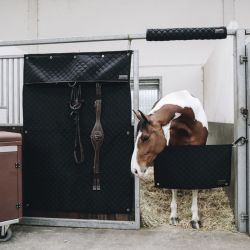 Stable Guard porte de box amovible en tissu chevaux Kentucky