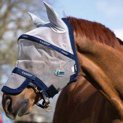 Masque anti-mouches  plus flymask vamoose  rambo horseware