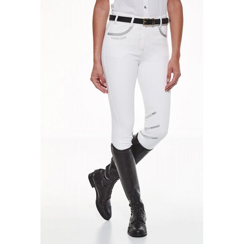 Pantalon équitation Jalisca femme avec basanes en silicone Harcour