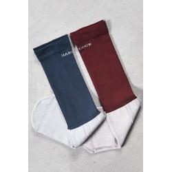 Chaussettes Vaya fines par 2 paires Harcour