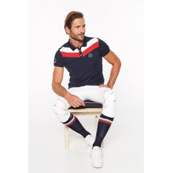 Polo Viking homme manches courtes Harcour
