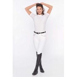 Polo concours Evita femme manches courtes Harcour