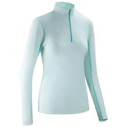 T-shirt femme leger/respirant suntech horse pilot bleu ciel face