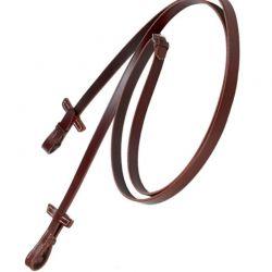 Rênes cuir lisse cheval Stübben
