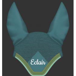 Bonnet anti-mouche cheval en coton égyptien personnalisable avec broderie - Mattes