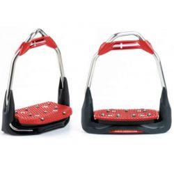 Etriers Freejump personnalisables Air's 00-30 plancher plat oeil orienté