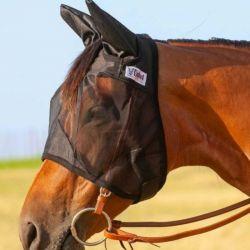 Masque anti-mouche avec oreilles Quiet Ride Fly Mask Cashel
