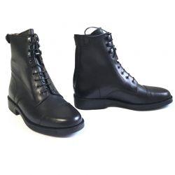 Boots Derby Ride à lacets et zip Cavalhorse