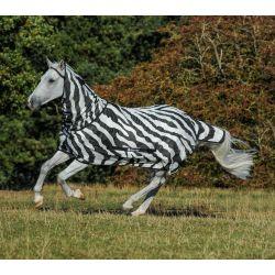 Chemise anti-mouche avec protege cou zebra bucas 609