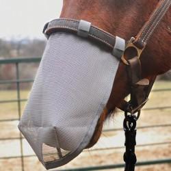 Protège-naseaux vue de profil Anti-mouche Anti-UV