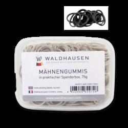 Boite élastiques à natter noir Waldhausen