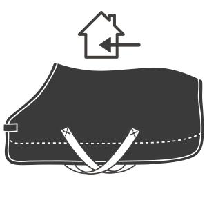 Couverture de box cheval - Mon Cheval