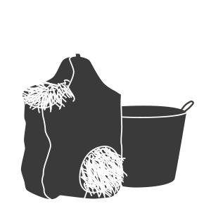 Seaux et filets à foin cheval - Mon Cheval